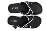 Armani Jeans 6545 Cross Flip Flops