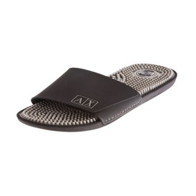 Armani Exchange Logo Slide Sandal