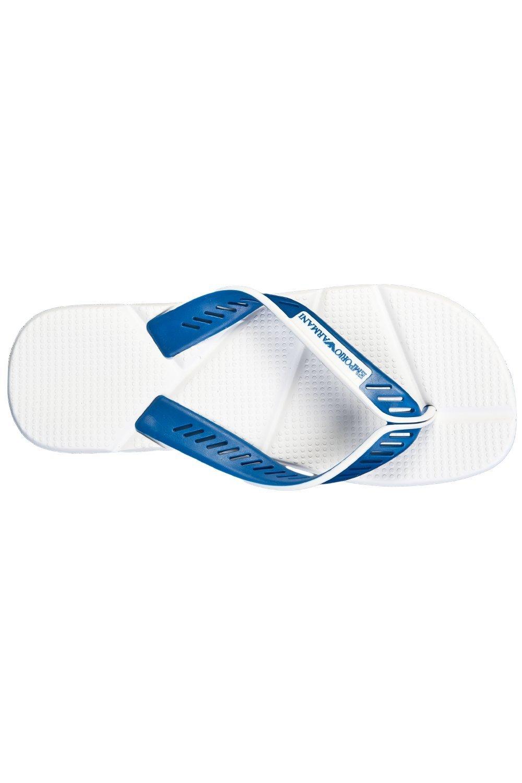 designer flip flops qbc5  Emporio Armani Men s Designer Flip-Flops