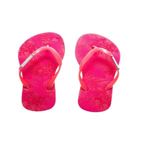 Armani Exchange A|X Tropical Flip Flop - Medium Pink
