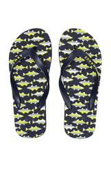 Armani Exchange Mens Fish Printed Flip Flop