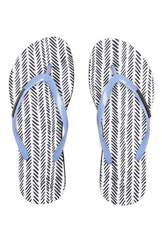 Armani Exchange Womens Herringbone Flip Flop