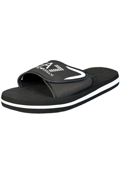 d490f24b6ab5b1 EA7 by Emporio Armani Men s Summer Slippers - Black — Armani Shoes