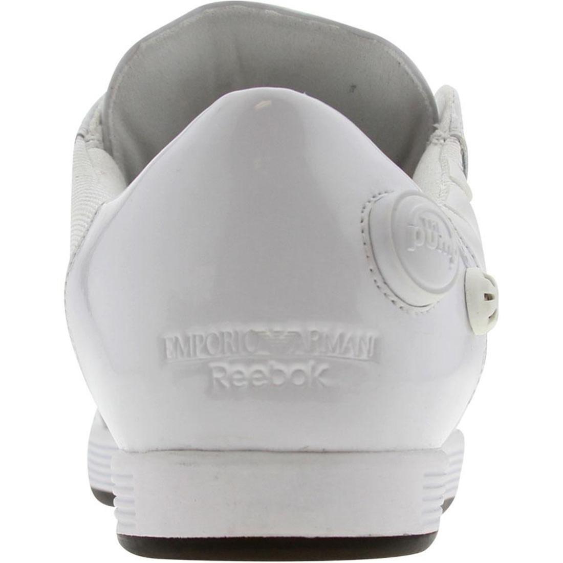 Punto esclamativo dai unocchiata editore  Reebok x Emporio Armani The Pump Vintage Low — Armani Shoes