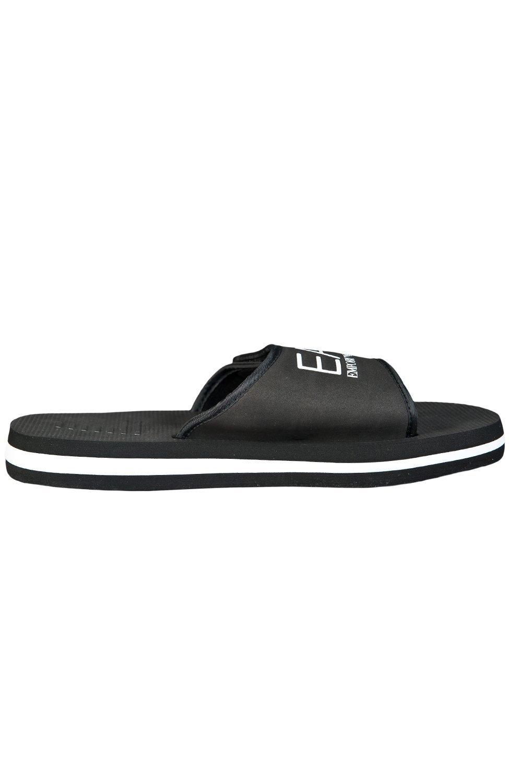 94e051d3d4be7c ... EA7 by Emporio Armani Men s Summer Slippers - Black Image 3 ...